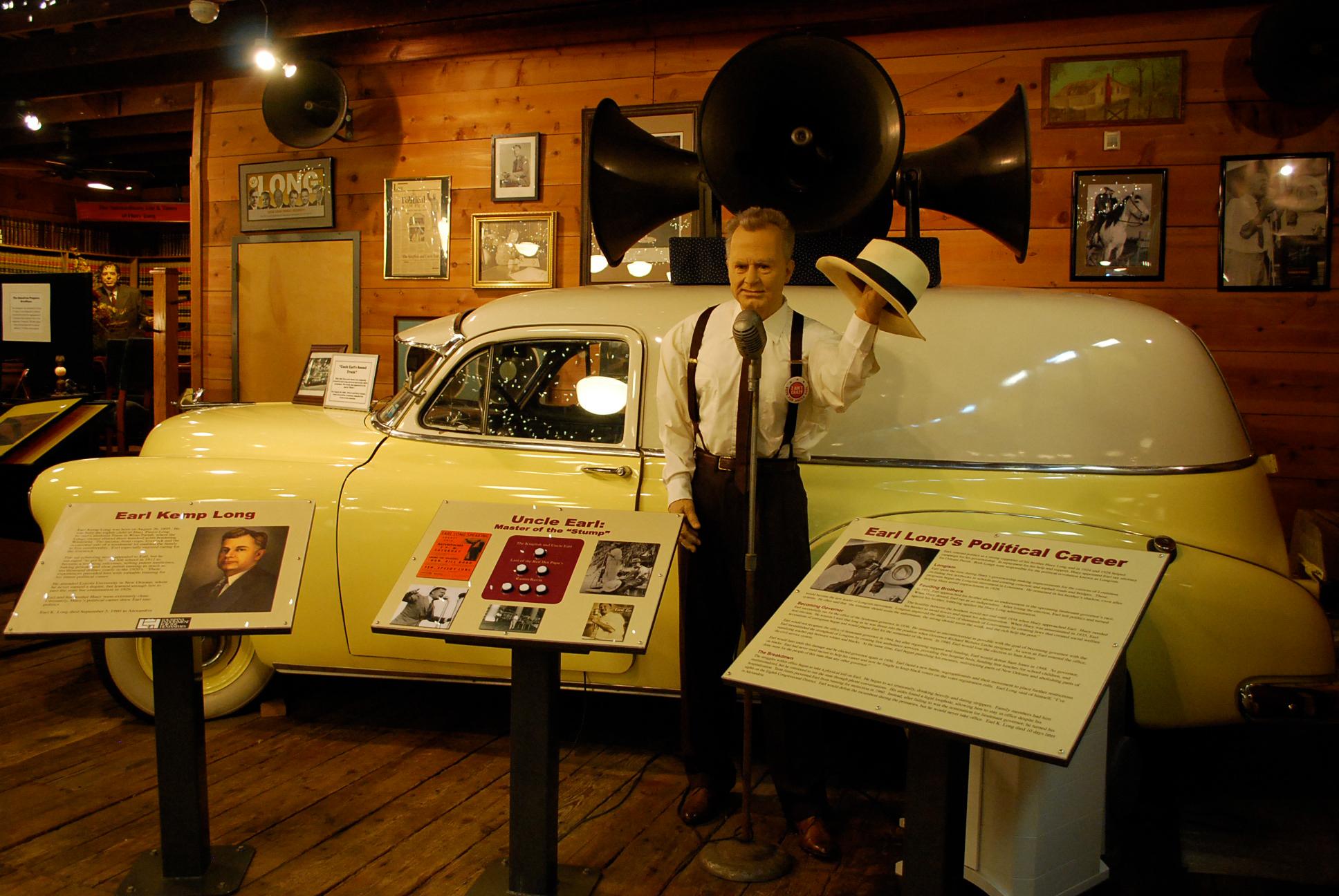 Earl Long Exhibit