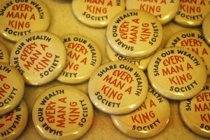 Every Man a King Buttons
