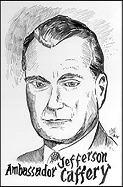 Ambassador Jefferson Caff